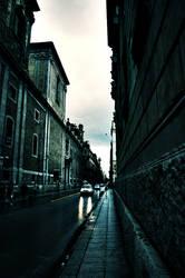 Via Maqueda la pioggia