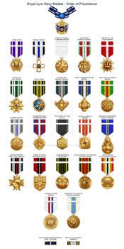 Medal Precedence