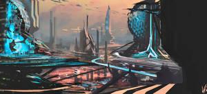 W.D. My Work - Cityscape