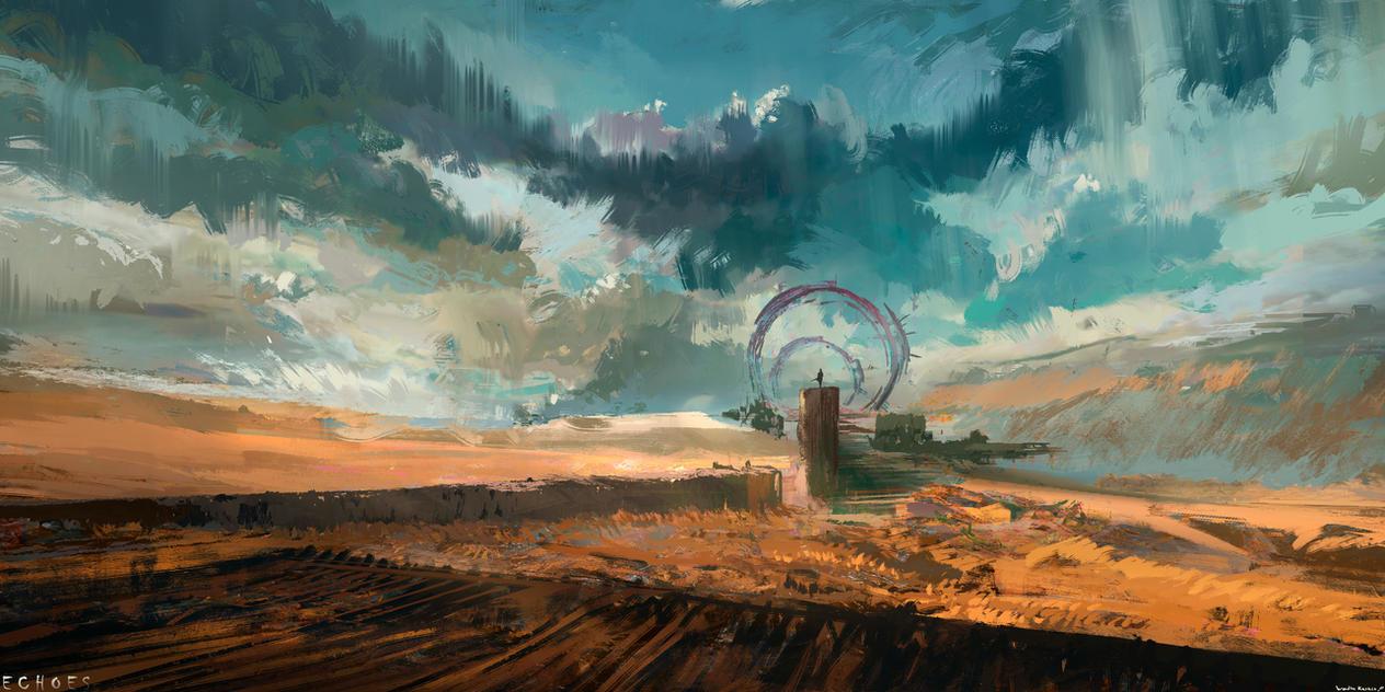 Desert Gates by SolarSouth
