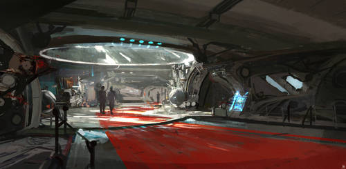 Spaceship Central Bridge concepts