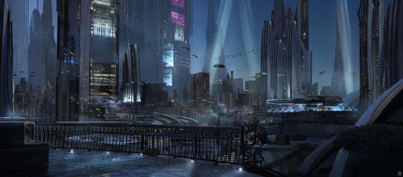 Night Lights by SolarSouth