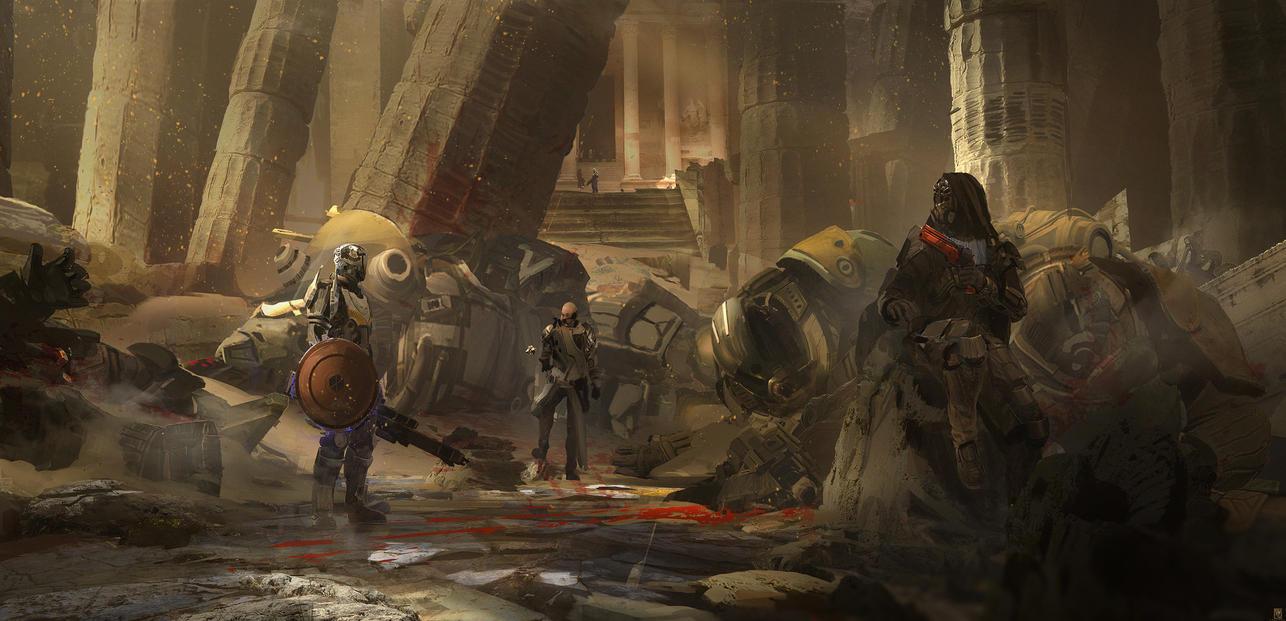 Destiny 2 Fan art by SolarSouth