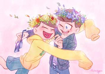 Flower crown Kara and Jyushi