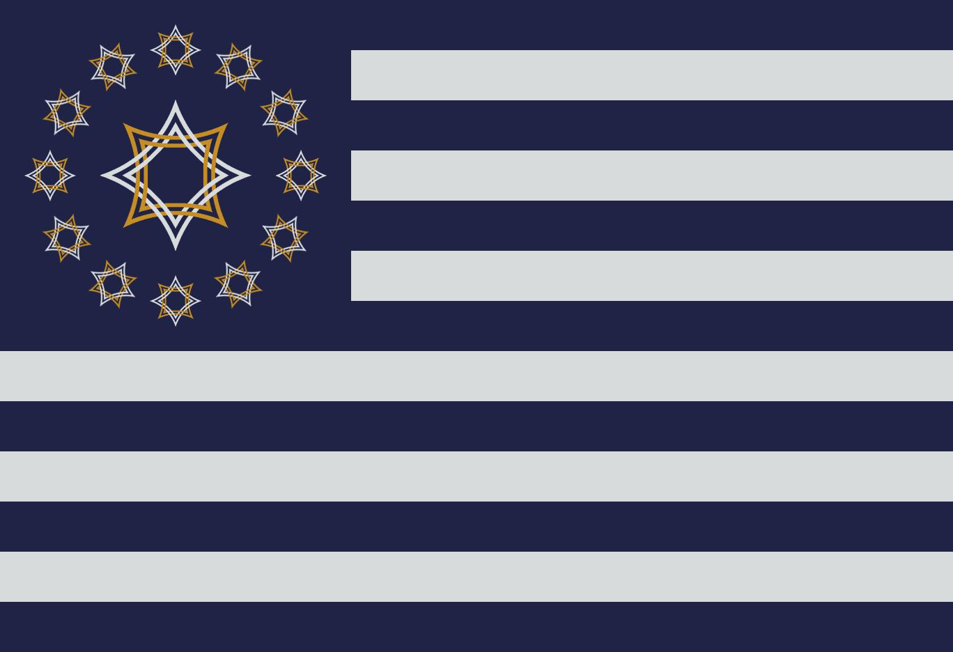 New Canaan Flag 1 by ImprovmanZero