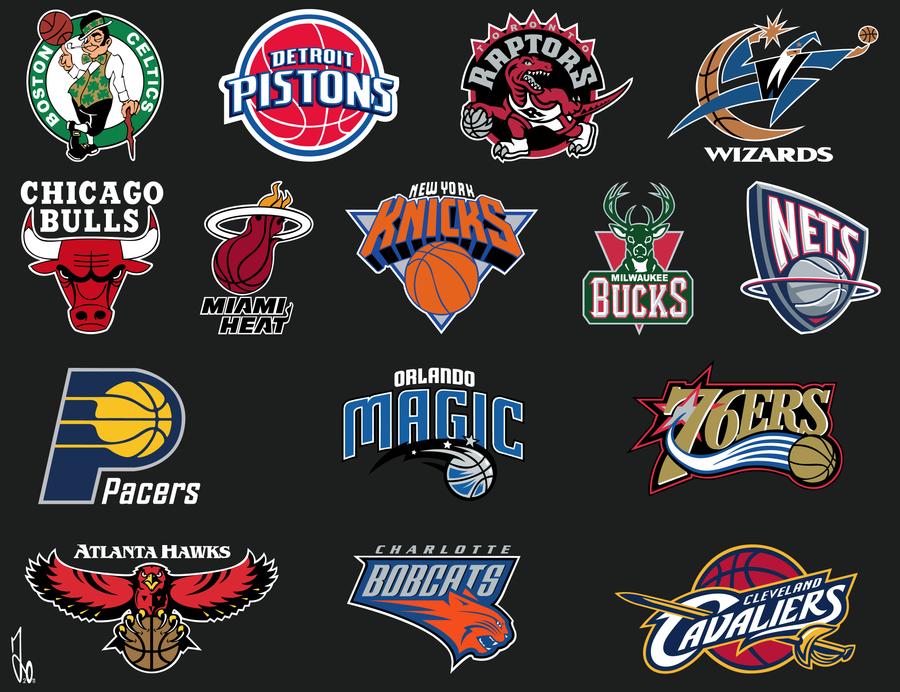 NBA Logos Vector by xxJo-11xx on DeviantArt
