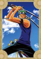 Roronoa Zoro - One Piece by xxJo-11xx