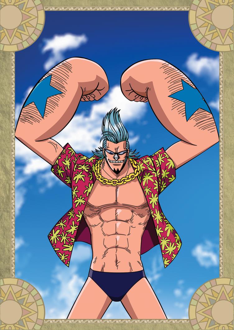 Franky - One Piece by xxJo-11xx