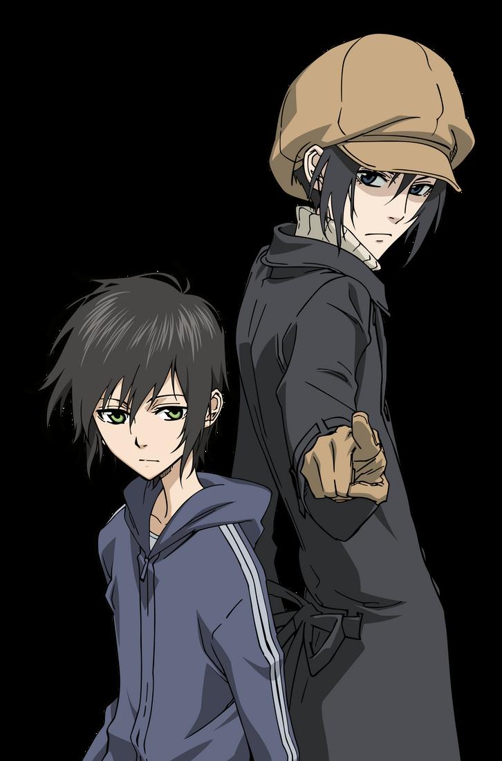 Miharu and Yoite - Nabari by xxJo-11xx on DeviantArt Nabari No Ou Yoite