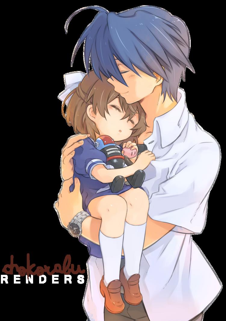 80 Renders Mangas Amour/Amitié Render__2__ushio_y_tomoya_by_chokorabu-d7v1o4b
