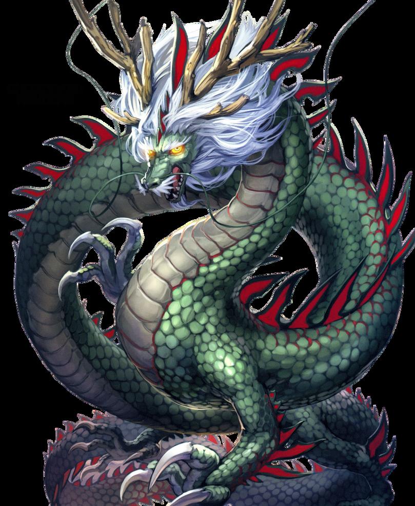 25 Renders Dragons Mangas/Réel Render__6__shenlong_by_chokorabu-d7ybju0