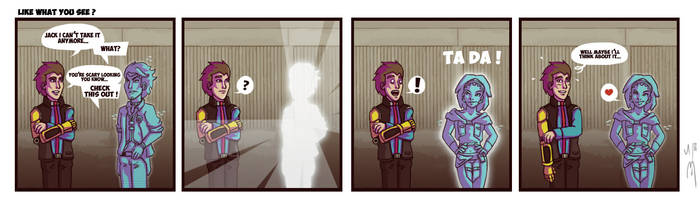 Rhysha comic: Like what you see ?