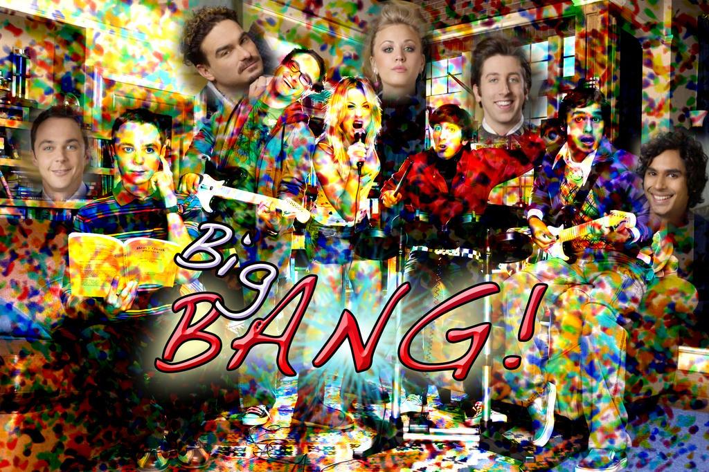 Big Bang Theory Wallpaper By Miwaoftheunknown