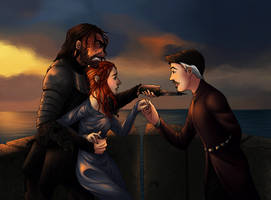 Sandor x Sansa x Petyr (SanSanIsh) by foxyx