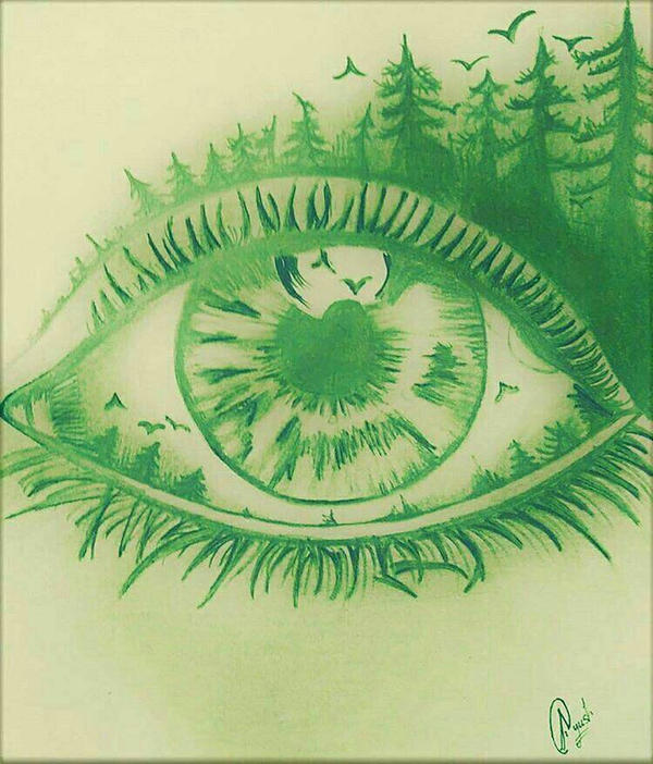 Dreaming Eye by AyushSant