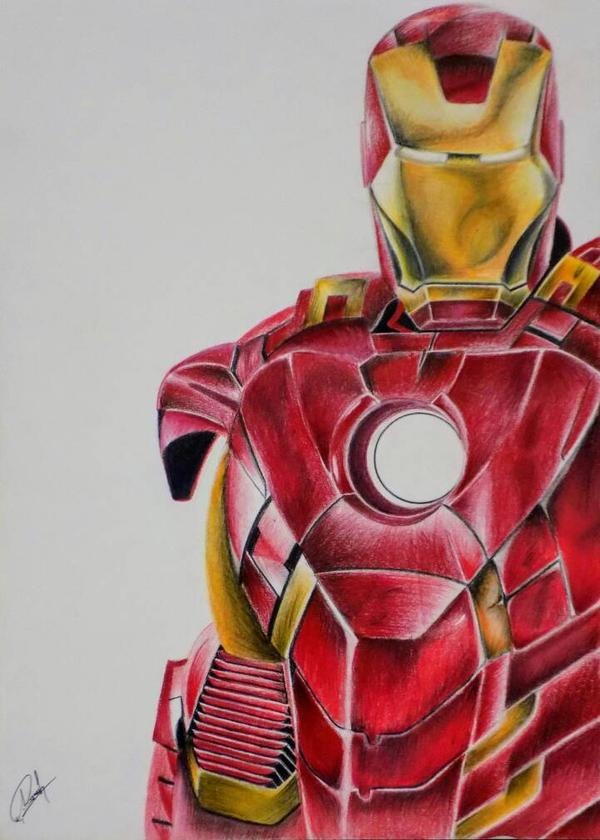 Iron Man by AyushSant