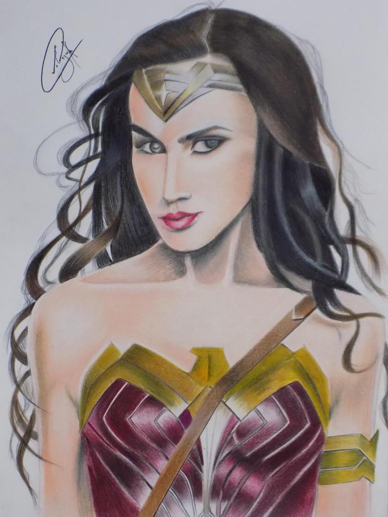 Wonder Woman by AyushSant