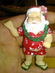 Santa dressed for Hawaii vacation by Lark-Catalpa-Royal8