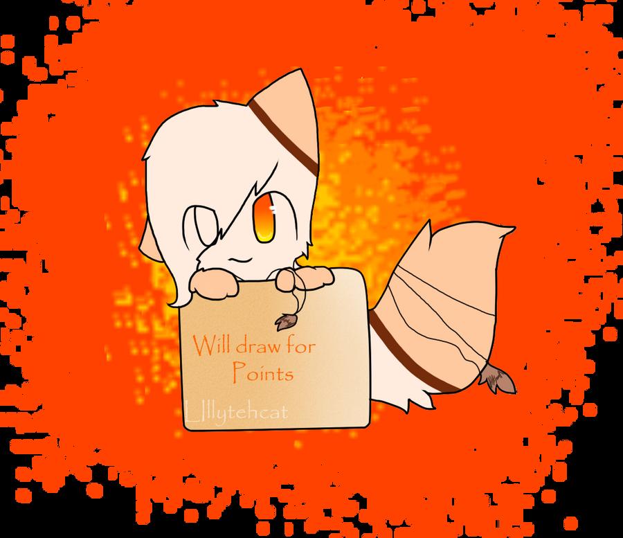 Will draw for Pointz by Lillytehcat