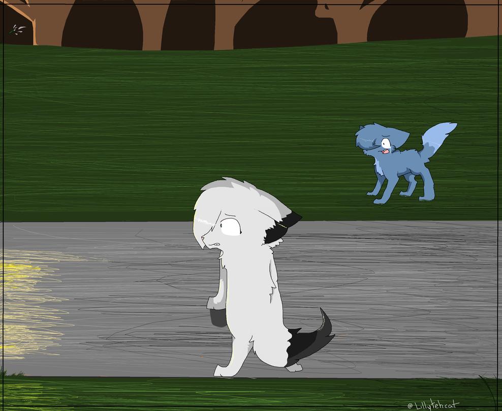 Snowfur's death by Lillytehcat