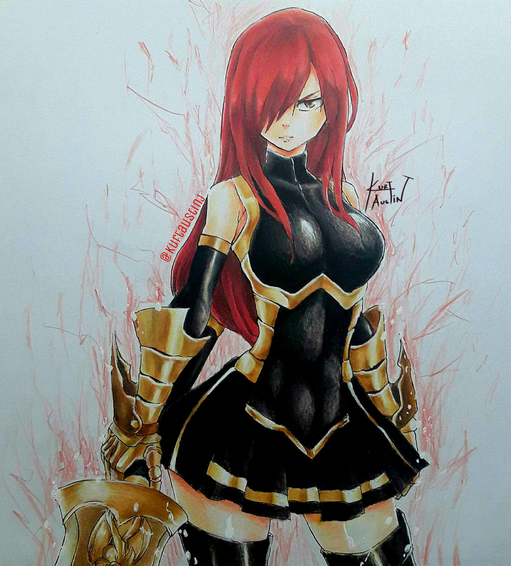 Erza Scarlet Wallpaper: Erza Scarlet By Deadlyworks On DeviantArt