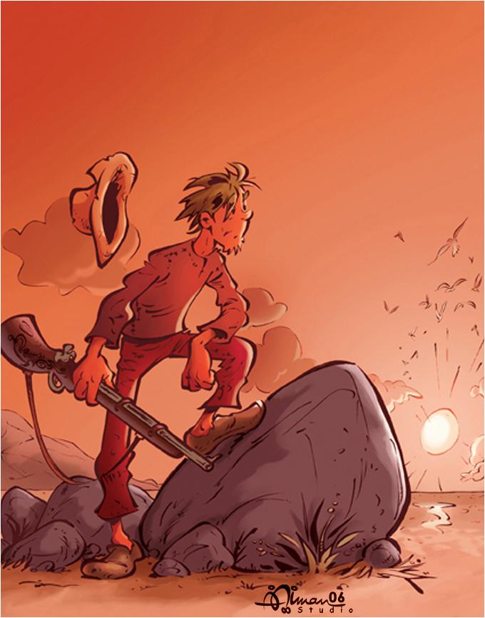 MagC: Robinson Crusoe by AimanStudio