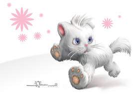Wallpaper: Lucky Cat