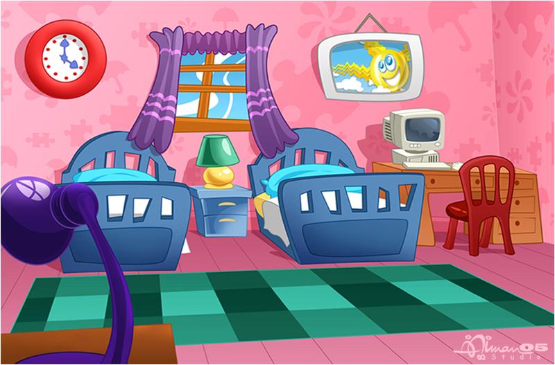 Cartoon Bedroom Background Universalcouncil Info
