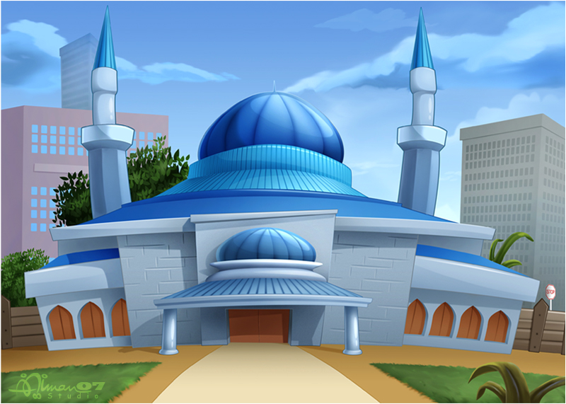 CMBG: Mosque 1 by AimanStudio
