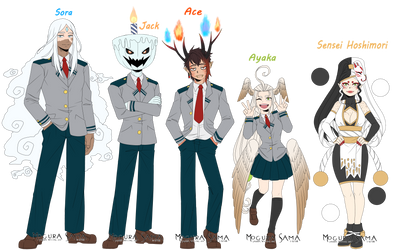 [BnHA OC] Student and Sensei