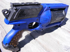 Blue Nerf Maverick