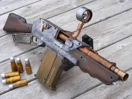 Nerf Steampunk Rifle by sonic-reducer