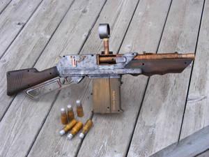 Nerf Steampunk Rifle 2
