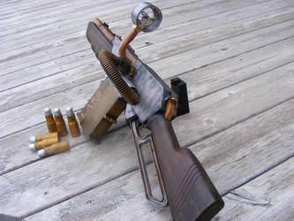 Nerf Steampunk Rifle 4 by sonic-reducer