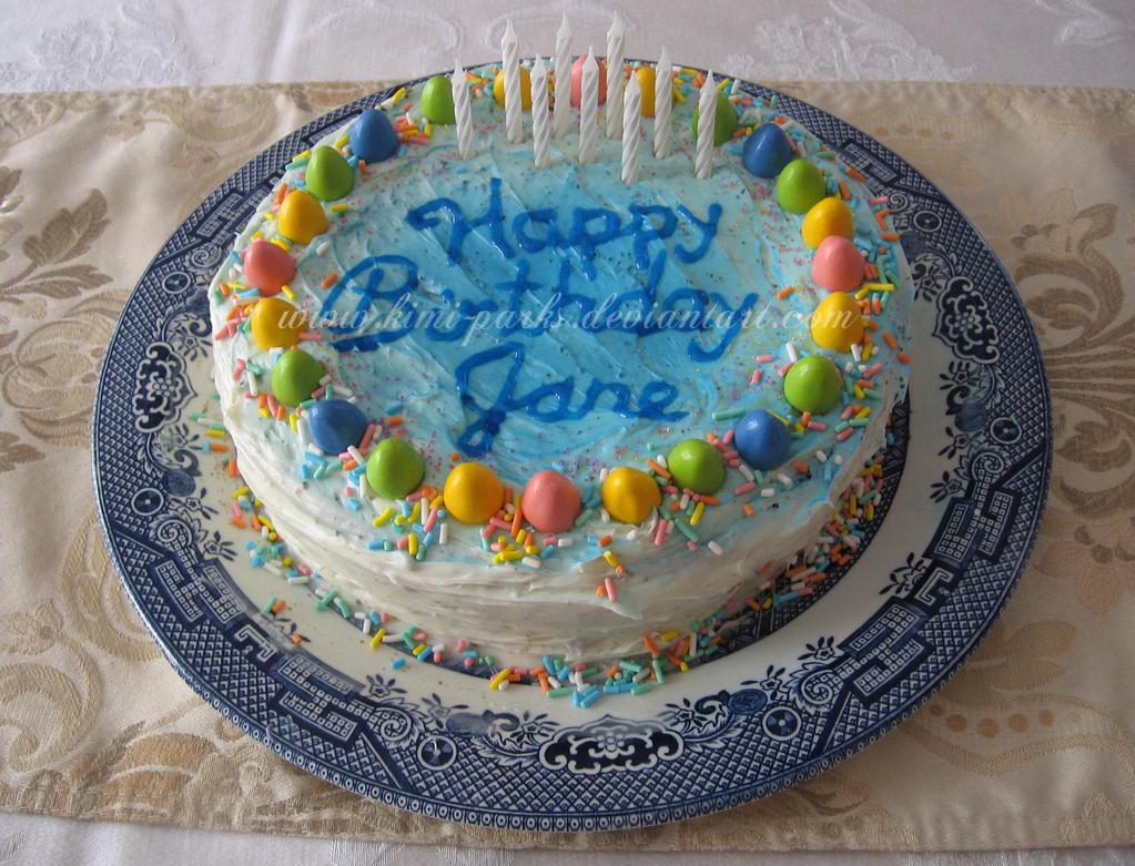 Easter Birthday Cake by Kimi-Parks