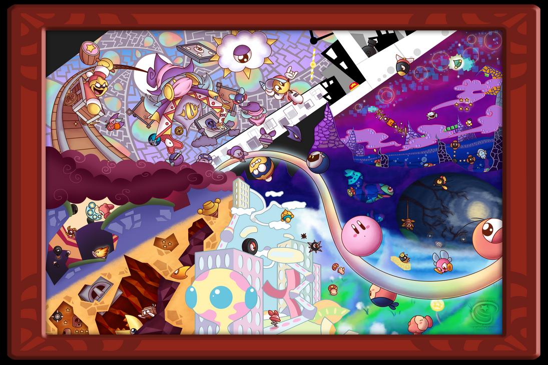 Kirby Canvas Curse by Piranhartist