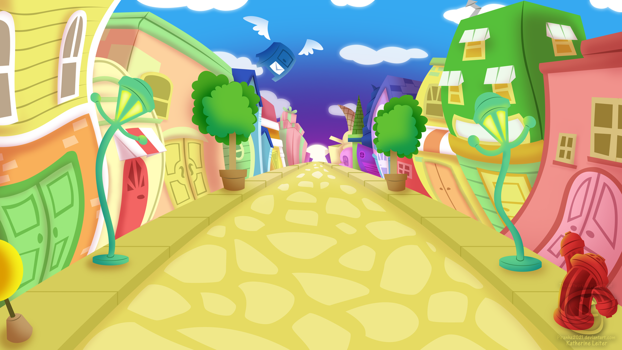 Toontown House Mega Building