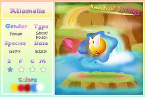 Spectral Springs - Atlamelia by Piranhartist