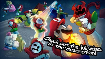 Super Mario RPG Intro - Reimagined by Piranhartist