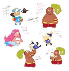Cookie Children by Piranhartist