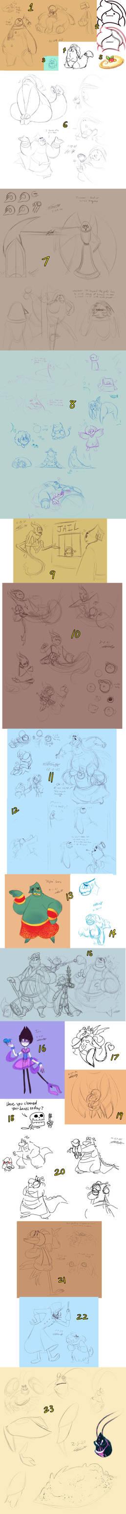 Sketch Dump 4-8-21