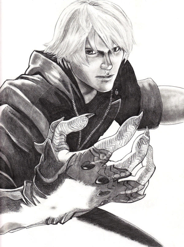 Nero Sketch Nero, Devil May Cry 4 ...