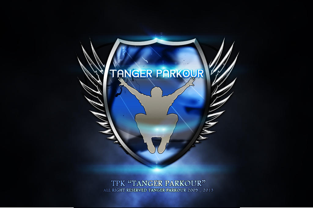TPK TEAM PARKOUR LOGO By SOUF GRAPHICS