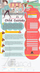 Child Custody Infographic Form by vectorbending