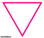 Born This Way Triangle PNG