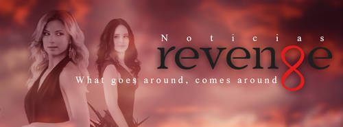 Revenge Noticias - Facebook Cover by DontCallMeEve