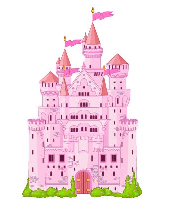 Disney Princess Castle Cake Topper Decoration Kit