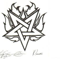 Flame Pentagram