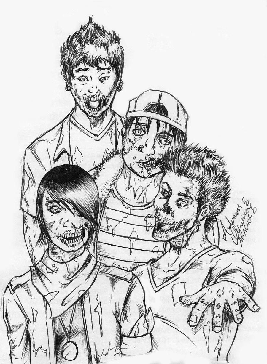 Frequencia Z: a zombie emo band by AracnosUNF on DeviantArt