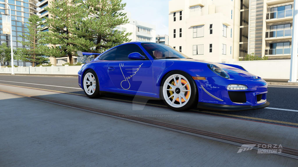Porsche 911 GT3 RS 4.0 St.Louis BLues by iannathedriveress
